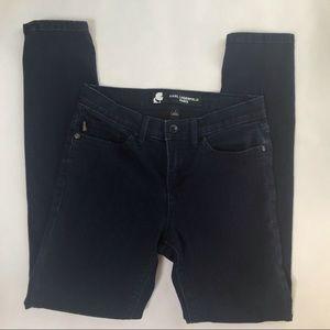 Karl Lagerfeld Paris Dark Wash Jeans Sz 6